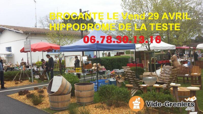 Photo de l\'événement Brocante artisanat collections HIPPODROME LA TESTE