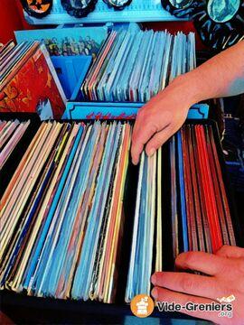 Foire au disques vinyl cd livres mat riels hi fi d co - Vide grenier seine et marne ...